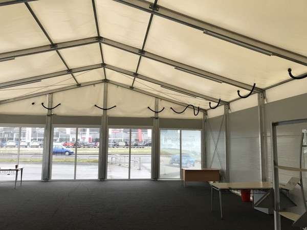 Insulated marquee roof