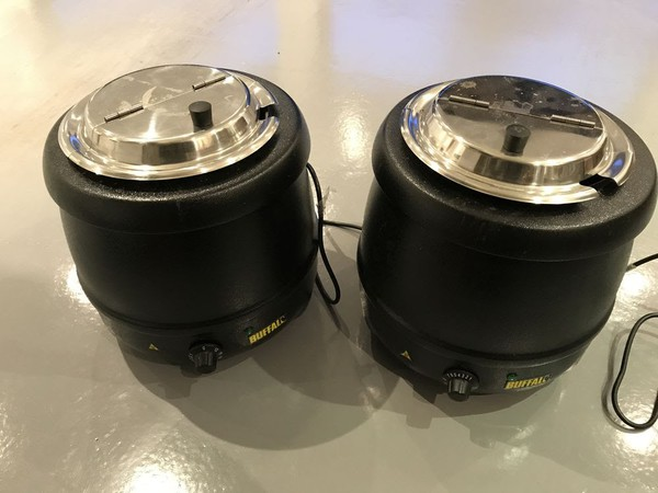 Soup kettles for sale