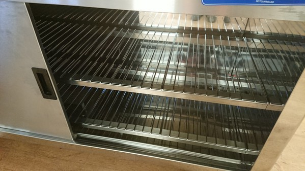 Used moffat carvery hot cupboard