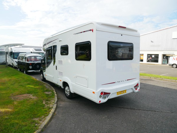 Used 4 berth motorhome for sale
