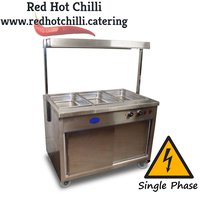 Hot cupboard and gantry for sale