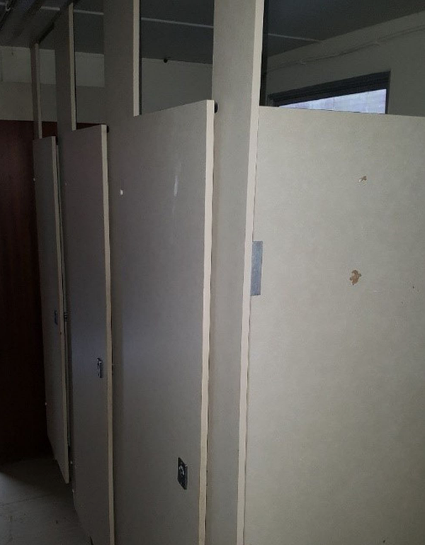 Washroom block for sale