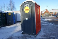 Single stall portable loos