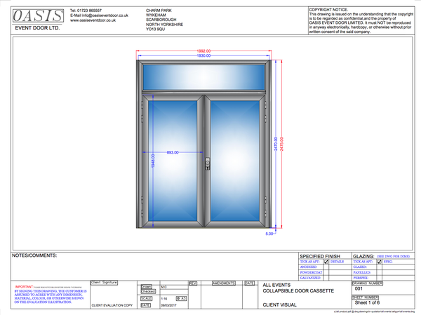 Buy Double glass doors