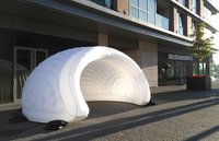 Inflatable Luna Stand, Shelter For Promotions, Parties Or Bars