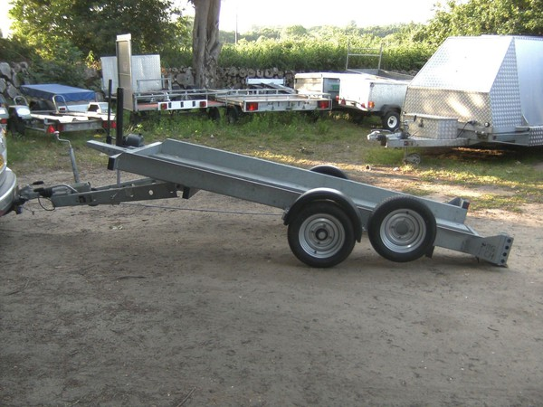 Secondhand transporter trailer