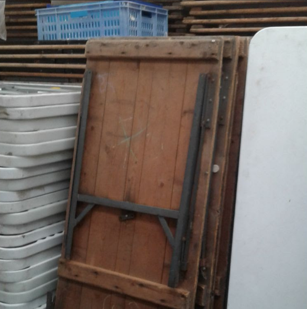 Used trestle tables for sale