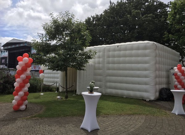 Secondhand inflatable marquee