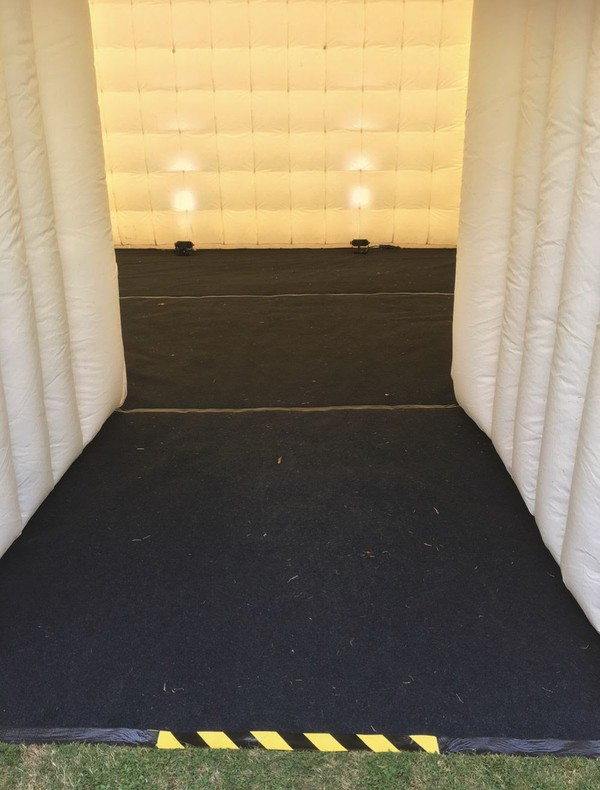 Used cube marquee for sale