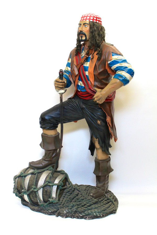 Secondhand pirate props