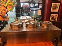 3 pot bain marie for sale