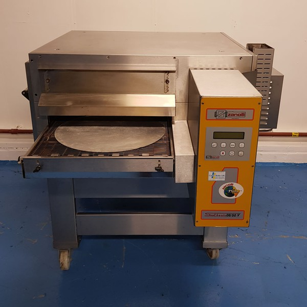 Zanolli gas pizza oven