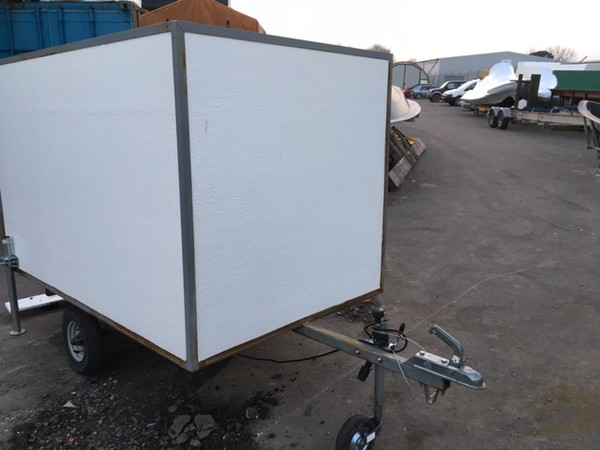 Buy used box trailer