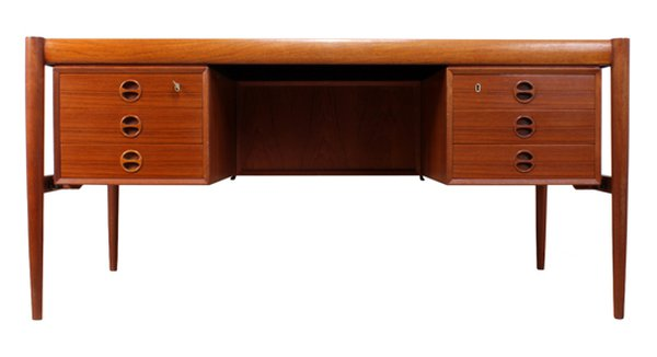 Danish teak desk for sale