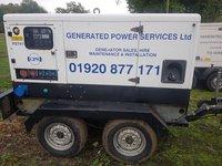 Pramac mobile generator