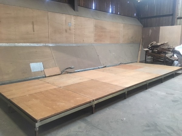 Secondhand stage for sale