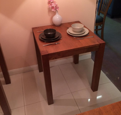 Square Wooden tables for sale