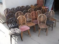 Wheel back chairs for sale