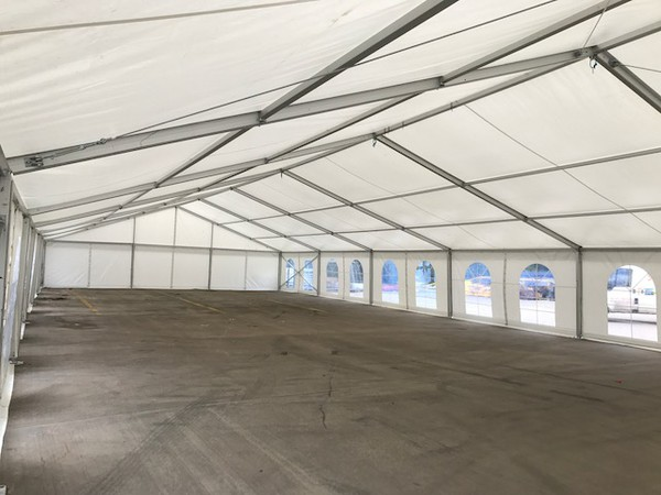 New clear span marquee for sale