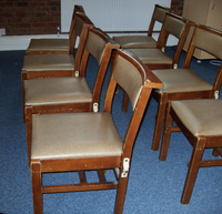 Chapel chairs for sale