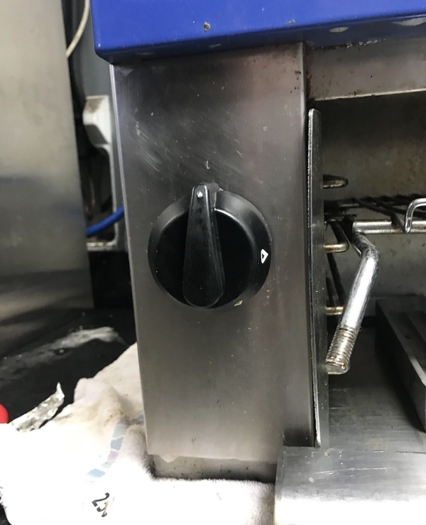 Used commercial grill for sale