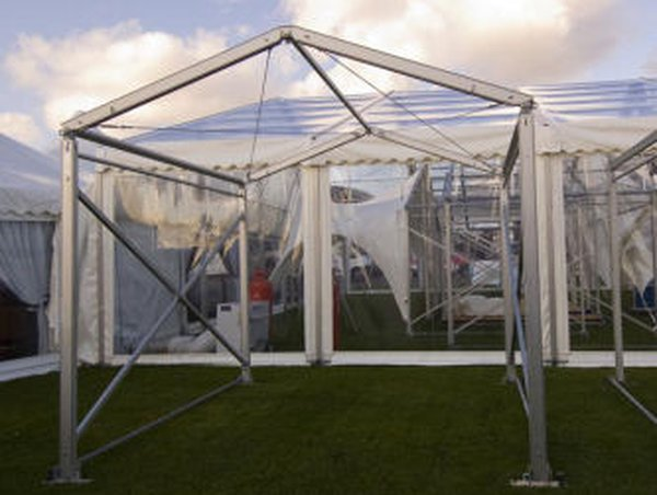 3m x 3m Framed marquee for sale