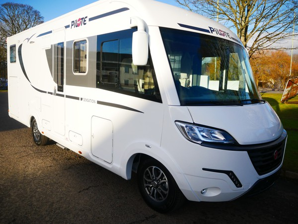 Buy new motorhome