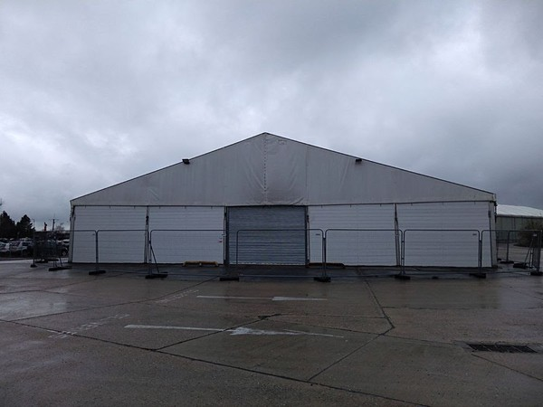 Secondhand warehouse tent for sale