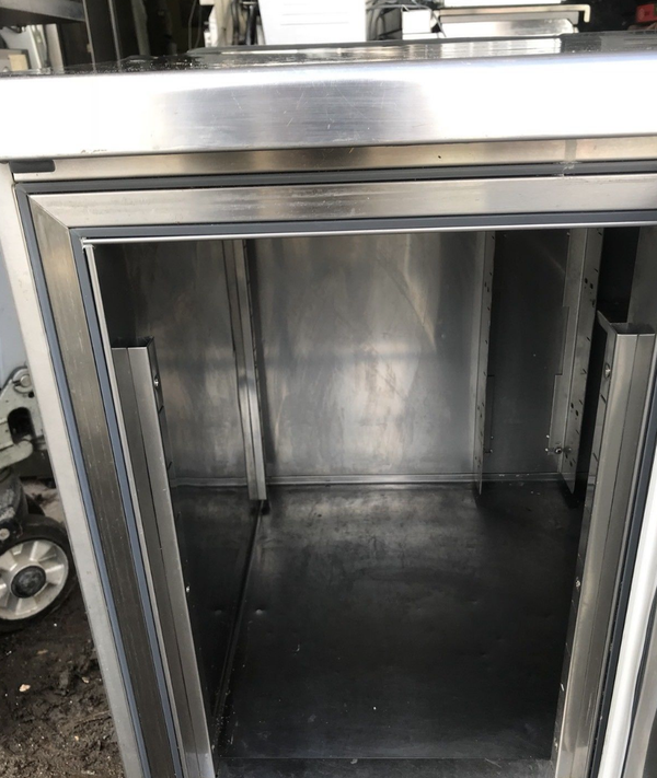 Used prep fridge