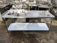 Triple bowl sink for sale