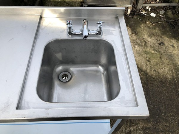 Used triple sink unit