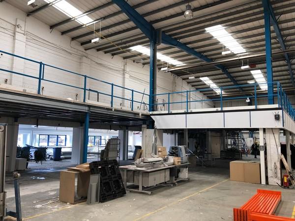 Secondhand warehouse flooring