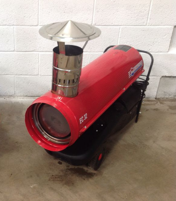 Secondhand Diesel heater for sale