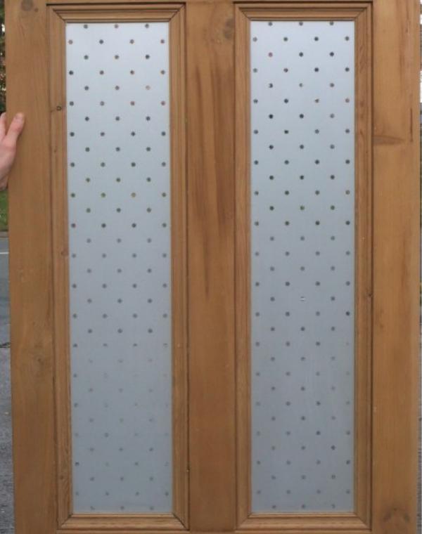 4 panel etched door