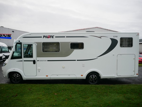 4 berth 2018 motorhome scotland