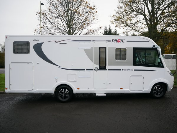 4 berth motorhome for sale