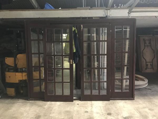 Wooden door unit for sale