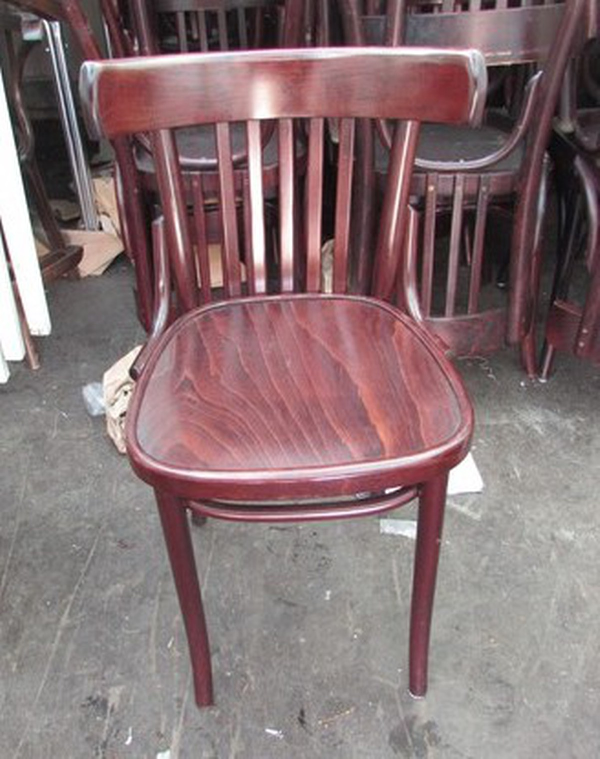 Secondhand chairs and tables restaurant pub