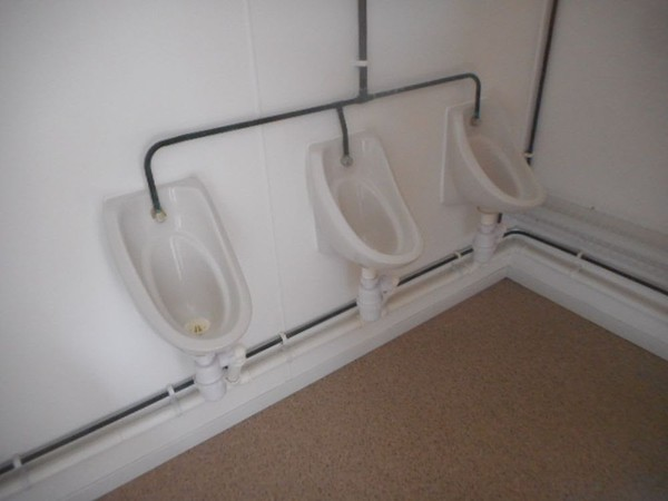 Urinals jack leg toilets