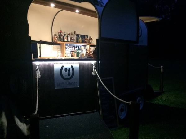 Wedding bar trailer