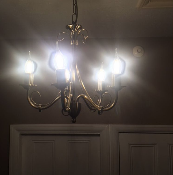 Secondhand light fittings