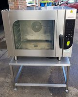 Commercial Hobart Chefmate 6 Grid Electric Combi Oven