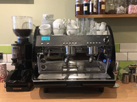 Commercial 2 group espresso machine