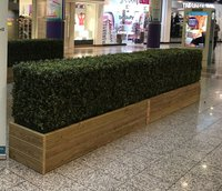 Artificial boxwood hedging