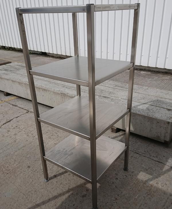 Stainless steel 4 tier shelves