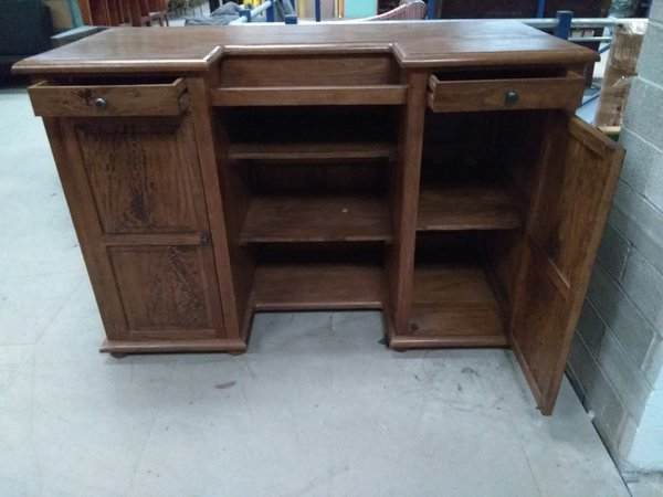 Oak dumb waiter for sale