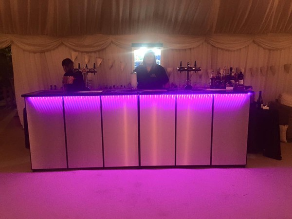 Secondhand mobile bar unit