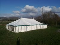 Twin pole marquee for sale