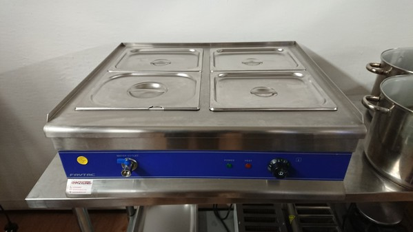 Four pot bain marie for sale