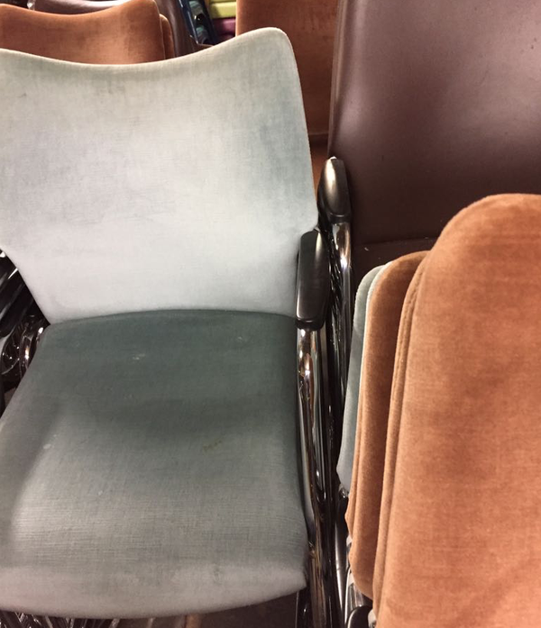 Used stacking chairs for sale